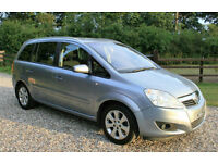 2008 VAUXHALL ZAFIRA 1.8 16v VVT BREEZE PLUS