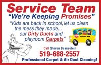 Air Duct Cleaning & Carpet Cleaning
