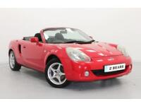 Toyota MR2 1.8 VVT-i Roadster 2dr Convertible - 2004 (04) - Red - Low Mileage