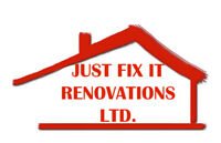 Just Fix It Renovation Ltd. Drywall & Reno Services Provided