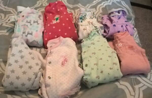 0-3M Baby Girl Clothes - Carters, Place, Old Navy, etc.