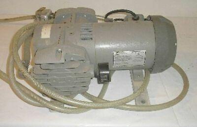 Thomas Mdl 2737cm39 Vacuum Air Pump Emerson Mdl Sa55zzhrm-4636 Electric Motor