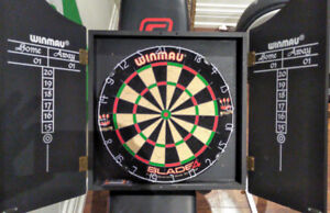 Pro Dart Board and 2 unopened sets of darts