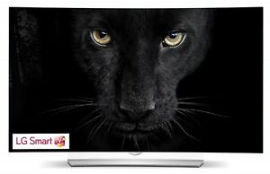 "Virtually New LG 55"" Curved Scr Smart TV w 4-Year Full Warranty!"