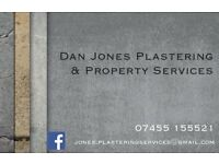 Internal plastering and property maintenance services