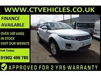 2014 14 plate Land Rover Range Rover Evoque 2.2SD4 190bhp 4WD Pure 5 door