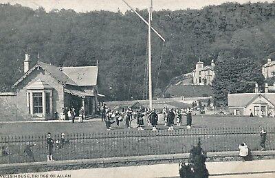 Bridge Of Allan   Wells House   Scotland   1905