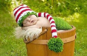NEW - Knit Hats and photography props Size Newborn - 12 months Kawartha Lakes Peterborough Area image 3