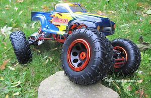 New RC  Rock Crawler Truck  1/8 Scale with 4 Wheel Steering City of Toronto Toronto (GTA) image 5