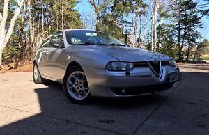1999 Alfa Romeo 156 V6. Sport. Momo Leather