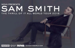 Sam smith tickets for tomorrow!