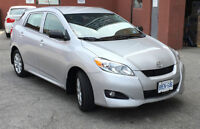2009 Toyota Matrix ONLY 87,000KM!