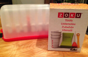 Zoku popsicle maker accessories