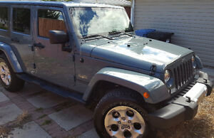 2014 Jeep Wrangler Unlimited Sahara $34,500***NO GST*** Private