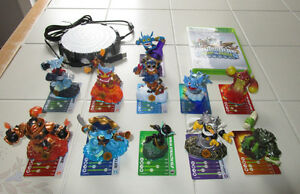 Skylander Swap Force set w/portal, game & 11 skylanders XBOX 360
