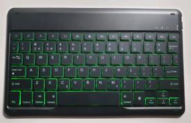 Jelly comb wireless illuminated Bluetooth keyboard