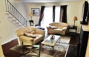 Rent 3/4 Bedroom Furnished Townhouse Short/Long Term Nov 1