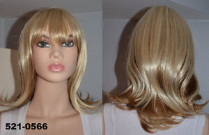 BRAND NEW: Deluxe Highlighted Blonde Wig (521-0566)