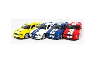 (2007 FORD SHELBY GT500 Miniature Car 1:38 Scale RED Color Mini Die Cast_NU)