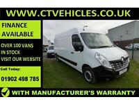 2016 16 plate Renault Master 2.3dCi FWD LM35 125 Business LWB B/TOOTH TIDY VAN