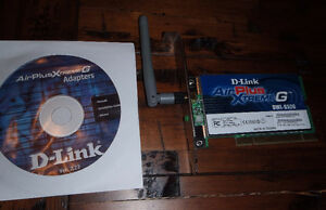D-Link DWL-G520 Wireless Adapter PCI Card