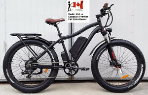2017 Fat Electric Bicycle 48V/500W  Kador Fat Ebike fully loaded