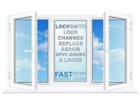 EMERGENCY LOCKSMITH, UPVC DOOR SPECIALIST, YALE, MORTICE LOCKS, HANDLES & GLAZIERS
