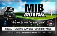 MIB MOVING- YOUR LOCALLY OWNED AND OPERATED MOVERS