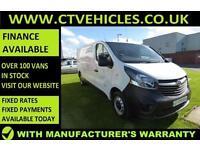2015 15 Vauxhall Vivaro 1.6CDTi 115PS 2900 L2H1 LWB Diesel Tidy van