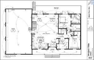 House Design, Permit Drawings, Drafting Services, etc. Moose Jaw Regina Area image 1