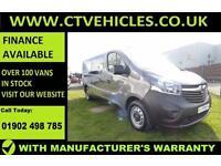 2016 66 plate Vauxhall Vivaro 1.6CDTi BiTurbo 2900 Combi A/C 9 SEAT MINIBUS