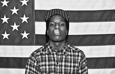 ASAP Rocky Rapper Music Poster - 36x24 Rap & Hip Hop Music