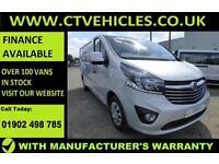 2016 66 plate Vauxhall Vivaro 1.6 CDTi Sportive 2900 L2H1 L2 LWB 120bhp EURO6 AC