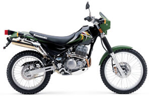 WANTED:     Looking for a Kawasaki Super Sherpa 250 Bike