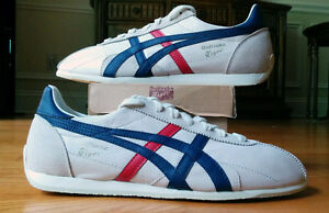 NEW Onitsuka Tiger by Asics Runspark LE (off-white/navy) sz 7.5