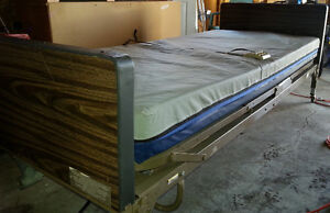 INDUSTRIAL GRADE HOSPITAL BED ELECTRIC REMOTE
