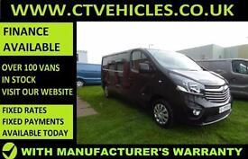 2016 16 plate Vauxhall Vivaro 1.6CDTi Sportive 2900 LWB L2H1 L2 A/C black van