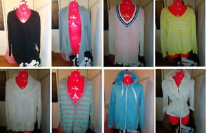 PRICE DROP >> 8 WOMENS SWEATERS M/L/XL - $15 EACH OR ALL FOR $80
