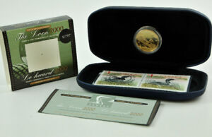 2000 The Loon Stamp & Coin Set