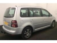 VOLKSWAGEN TOURAN 1.6 2.0 TDI 140 SE MATCH SPORT 7 SEATS FROM £31 PER WEEK.