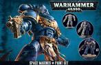 Space Marines + Paint Set (Warhammer Nieuw)