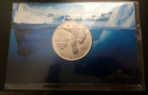2012 Canada $20 Polar Bear Fine Silver Coin - New Sealed