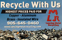 TOP CASH for Insulated Wires & Copper - WE PAY THE MOST !!!