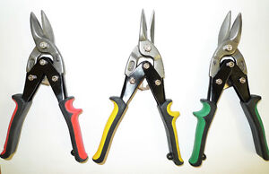 Aviation Metal Snips – 3-piece, new