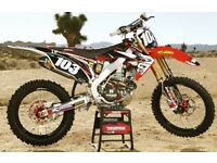 Looking for 250 Honda, 250 Kawasaki, 250 Yamaha, drz 400 or why?