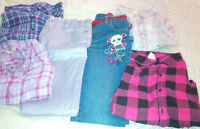 MIXED LOT OF FALL/WINTER SIZE 14 CLOTHES, FADED GLORY