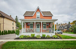 FOR SALE - Charming Dtown Stouffville - Renovated Heritage Home