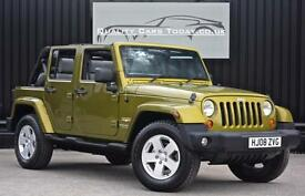Jeep Wrangler 2.8 CRD Diesel Sahara Unlimited Automatic 4X4