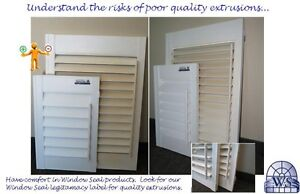 Vinyl Shutters By Widnow Seal