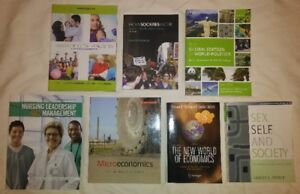 Nursing and Elective TEXTBOOKS for SALE